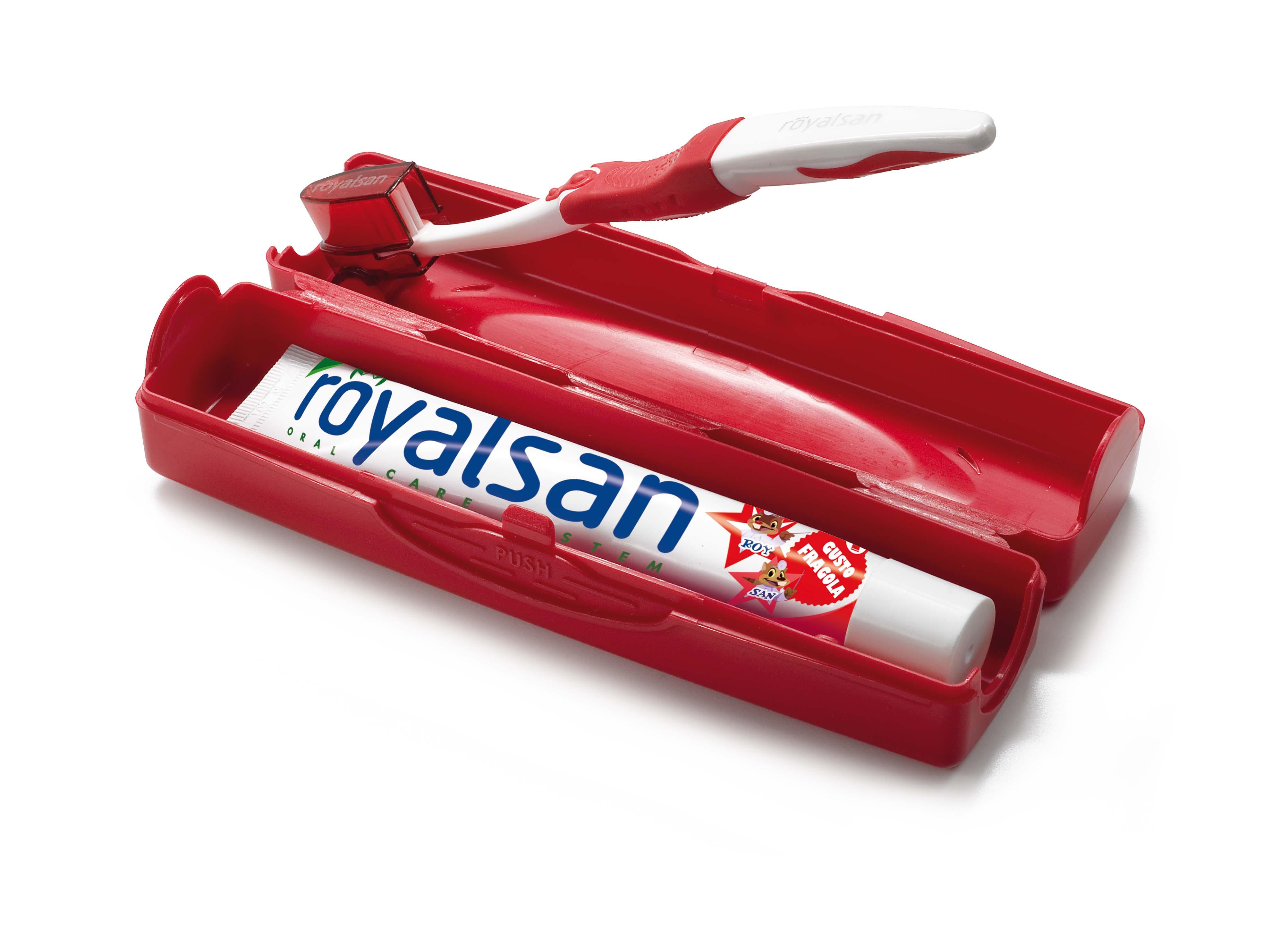 Porta spazzolino e dentifricio