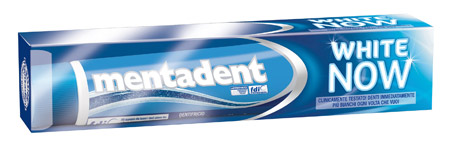 dentifricio mentadent white now
