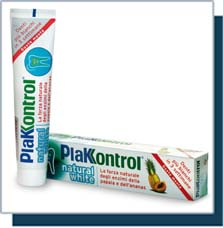 dentifricio plakontrol natural white