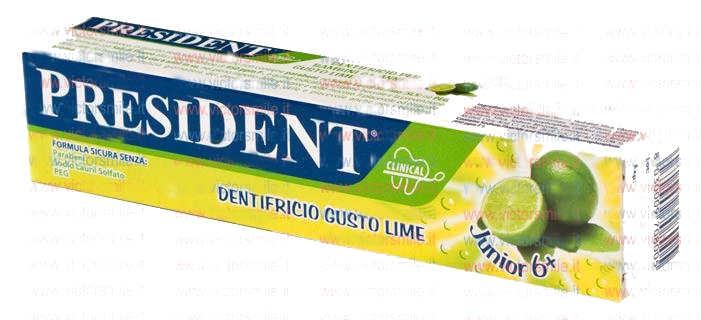 dentifricio president junior 6 + limone